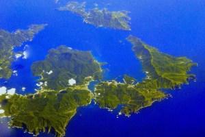 島前カルデラ(隠岐ユネスコ世界ジオパーク)
