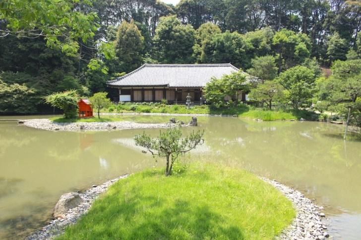 浄瑠璃寺の浄土式庭園