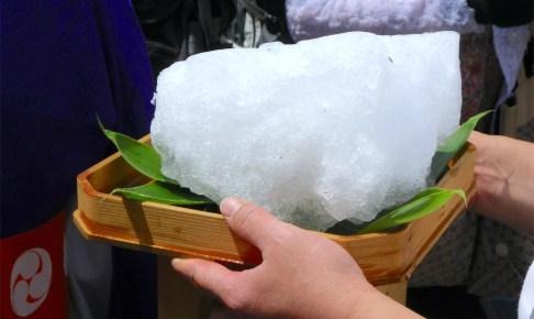 湯涌温泉『氷室開き』