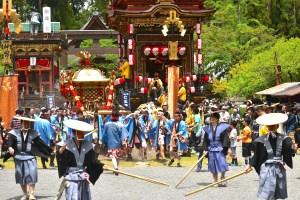 日野祭(馬見岡綿向神社例祭)