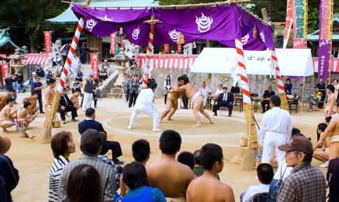 忌宮神社『三日相撲』