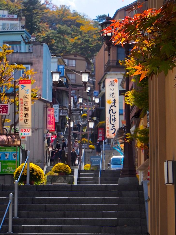 現在の石段街も基本的な構造は江戸時代のまま