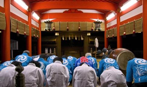 住吉神社『河渡祭』