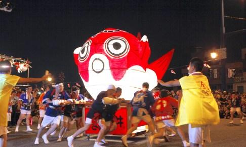 柳井金魚ちょうちん祭
