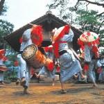 鹿子原の虫送り踊り