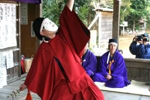 熊野神社神楽奉納|旭市