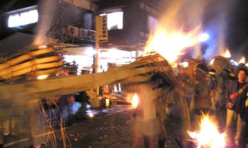 由岐神社『鞍馬の火祭』
