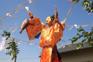 折戸大宮神社『春季祭』(神楽奉納)