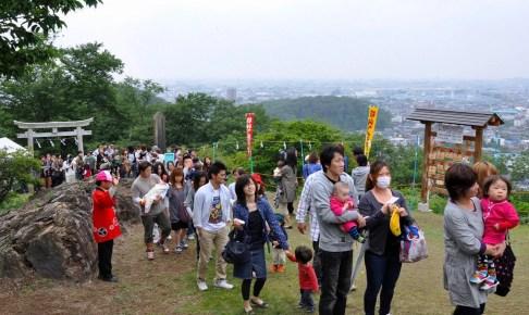 足利富士浅間神社『初山祭』(ペタンコまつり)