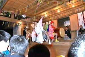 諏訪神社『笹川の神楽』
