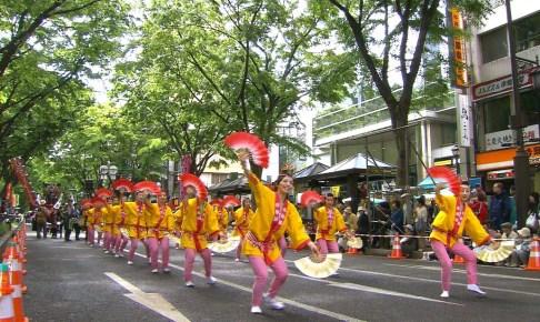 夏まつり仙台すずめ踊り