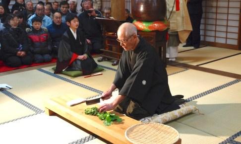 崇禅寺『七草粥会』