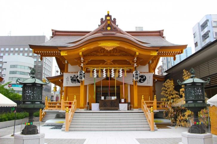 平成28年再建の水天宮拝殿