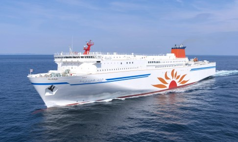 ニッポンの豪華な船旅(5) 商船三井フェリー(大洗〜苫小牧)