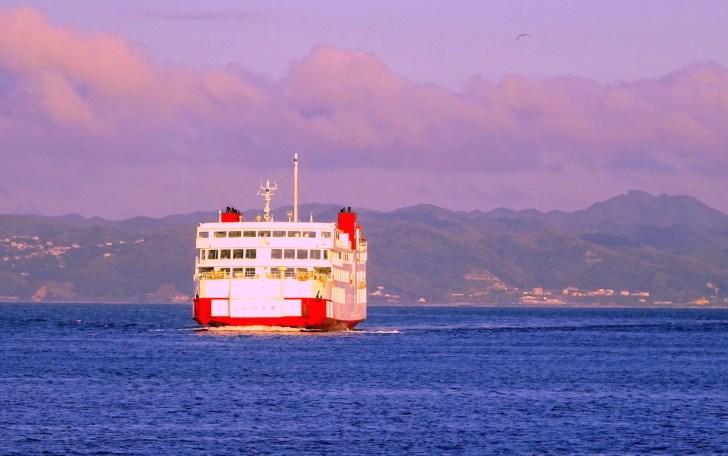 久里浜と金谷を結ぶ東京湾フェリー