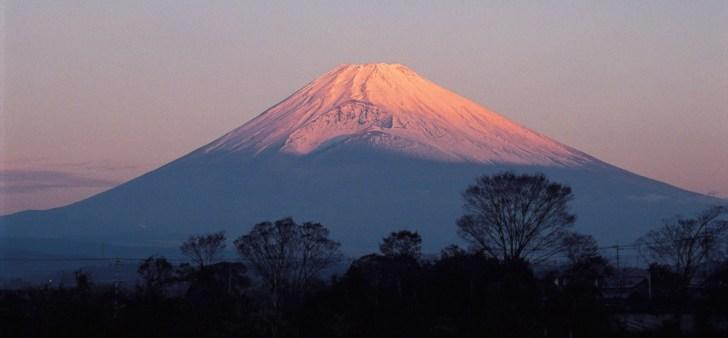 裾野市からの富士山