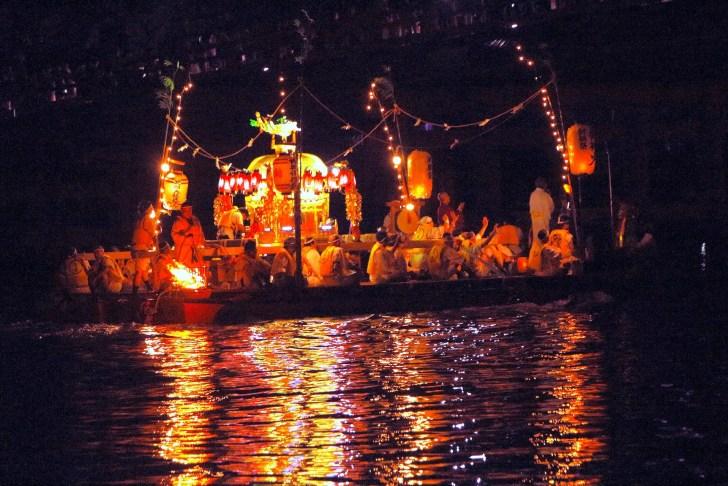 建部大社『船幸祭』