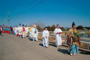 為当稲荷神社『花の撓大祭』