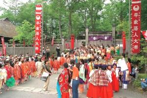 湯西川温泉『平家大祭』