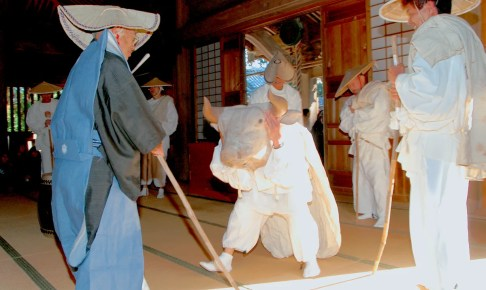 財賀寺『お田植祭』
