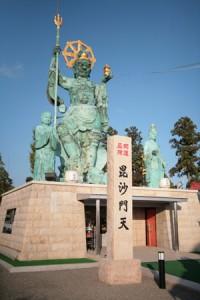 日本一の毘沙門天像