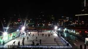 Art Rink in 横浜赤レンガ倉庫「日本の四季」