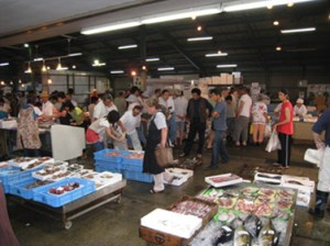 西浦魚市場