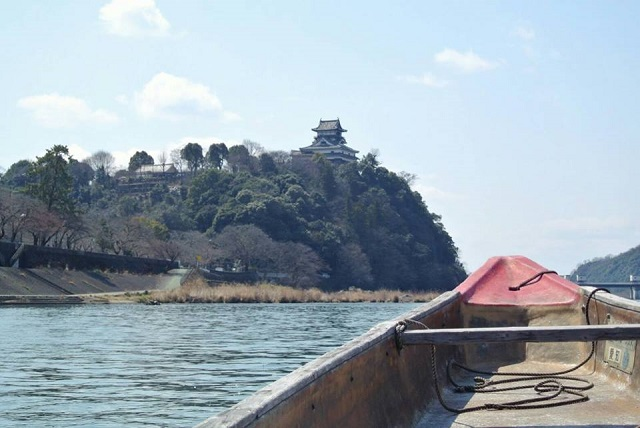 犬山城遊覧船