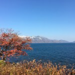 絶景!丸駒温泉からの支笏湖