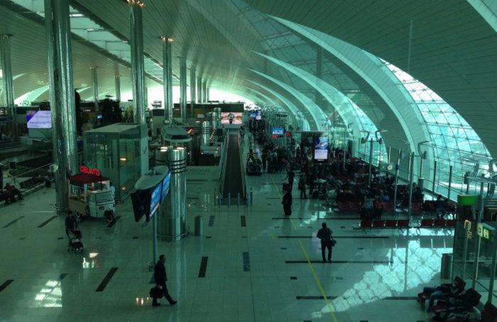 ドバイ空港ラウンジB