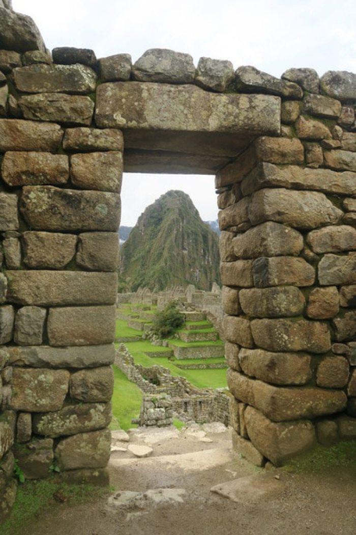 マチュピチュ遺跡に入るシティゲート