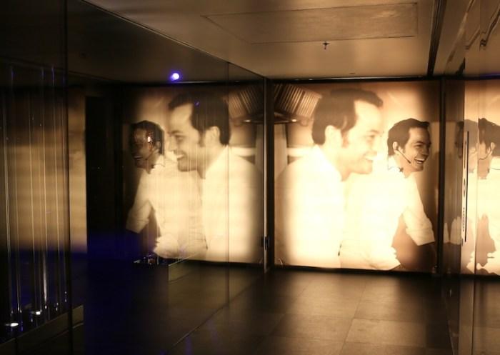 バルセロナのレストランの入り口