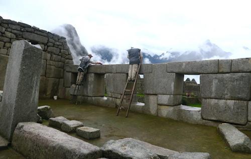 マチュピチュの3つの窓の神殿