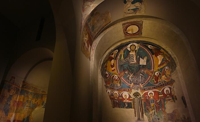 カタルーニャ美術館の「栄光のキリスト像」