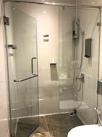 シャワールームの画像