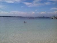 ダバオでのTOEIC受験とIELTS受験が終わり。やっとビーチに行けました。