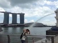 ダバオからシンガポールへ到着。
