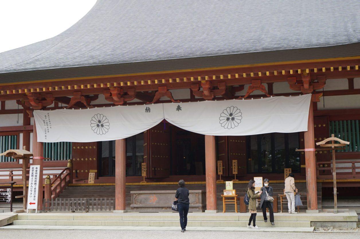 世界遺産 平泉 毛越寺 本堂
