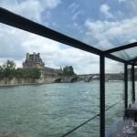 セーヌ川クルーズ船からの眺め