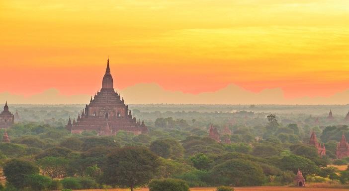 広大な平野に無数の仏塔が林立!ミャンマーの『バガン遺跡』 | 旅時間