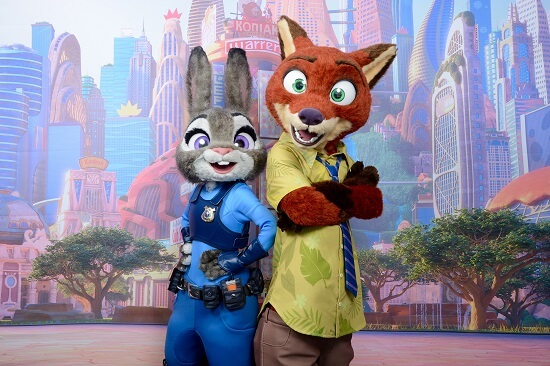 """Zootopia"" Characters Nick Wilde and Judy Hopps Coming to Disney Parks"