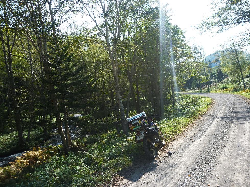 道道664号線(ダート区間)|たびくら ~バイクで全国制覇~ | たび ...