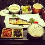 定食 焼き魚 食事 和食