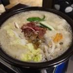 お鍋 食事 ジビエ 和食