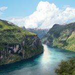 ノルウェー 世界遺産 自然 風景