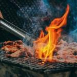 ステーキ お肉 グリル アウトドア 食事 洋食