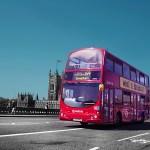 風景 西洋 街並み ロンドン バス