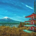 富士山 風景 自然