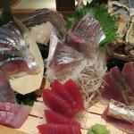 刺身 カツオ 食事 和食 海鮮