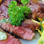 ステーキ お肉 食事 高級 洋食 レストラン